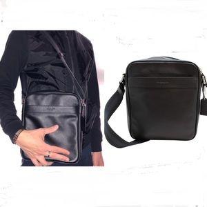 Coach Crossbody Soft Black Leather Purse